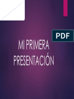 1-Mi Primera Presentación