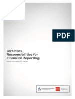 Directors Guide to Financial Reporting