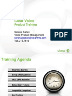 Clear Voice Product Training[1]