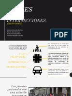 Cruces e Intersecciones, Diseño Urbano