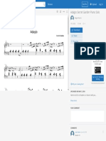 Adagio Secret Garden Piano Solo _ Sheet Music for Piano and Keyboard _ MuseScore