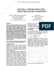 Simulation for a 3 Phase Induction Motor Under Unbalanced Conditions