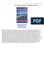 Fundamentos de Analisis Estructural