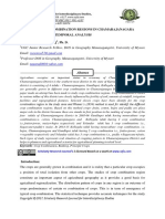A STUDY ON CROP COMBINATION REGIONS IN CHAMARAJANAGARA DISTRICT