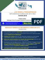 5. Pelatihan Dan Pendampingan K-13 SMA 2018