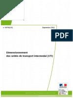 Dimensionnement Des Unités de Transport