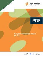 European Peer Review Manual for VET