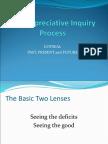 The Appreciative Inquiry max