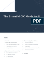 Essential CIO Guide to AI