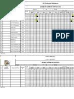 2.6.1.c,d Program Kerja Pemeliharaan Sarana Dan Pelaksanaan