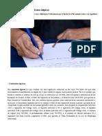 Contratos Típicos y Atípicos en El Derecho Español