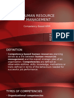 Competency-Human Resource Management