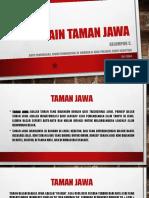 DESAIN Taman Jawa