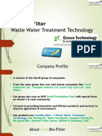 TransBio-filter Green Waste Water Technology - Convert Your Waste Into Bio-nutritional Products