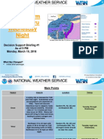 National Weather Service Storm Briefing