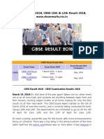 CBSE Result 2019, CBSE 10th & 12th Result 2019, www.cbseresults.nic.in