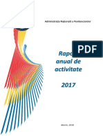 Raport Activitate ANP - 2017