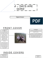 Haim – 'Days Are Gone' - Digipak Analysis