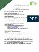 Hodges EDU519 syllabus