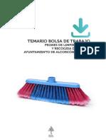 Muestra Temario Peones Limpieza Ayto Alcorcon