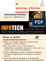 Chapter 3-JAVA GUI Programming-Reveiw Final
