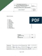 Reflotron - Standard Procedure