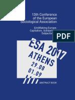 Akyurt ESA 2017 Athens Abstract