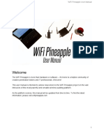 WiFi Pineapple Generation 6 User Manual Draft