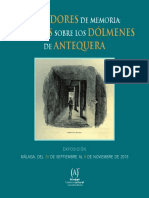 Dolmen - Antequera Catalogo_exposicion