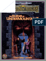 The Ruins of Undermountain II the Deep Levels Boxed Set