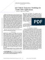 Two Stage Launch Vehicle Trajectory Modeling for Low Earth Orbit Applications