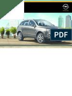 Opel Antara Betriebsanleitung