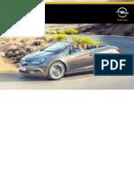 Opel Cascada Manual Do Proprietário