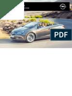 Opel Cascada Manuale Del Proprietario