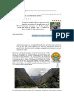 Barranquismo. Descenso Cascada Gotca (Perú)