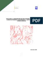 2009 Guia Barreras Polvo Carbon