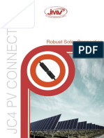 Photovoltaic JC4 Solar straight Connector