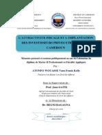 Lattractivite Fiscale Et Limplantation d