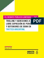 Informe AI Ciberataques a Periodistas en Argentina 2017