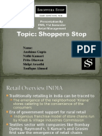 Shoppers Stop Presentation
