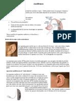 Audífonos e Implante Coclear.