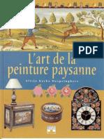 L'Art de La Peinture Paysanne - Alicja Kacka-Despringhere