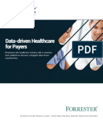 Data Driven Healthcare for Payers