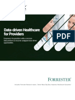 Data Driven Healthcare for Providers