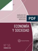 ECONOMIA Y SOCIEDAD - N 56 - FEBRERO 2018 - PARAGUAY - PORTALGUARANI