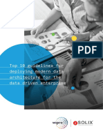 Top 10 Guidelines for Deploying Modern Data Architecture for the Data Driven Enterprise