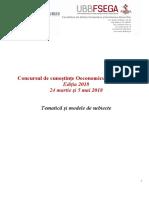 Oeconomicus Napocensis 2018. Tematica si modele de subiecte.pdf