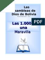Caratula Las 1000 y Una Maravilla.