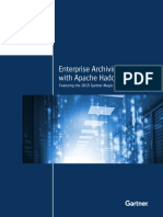 Enterprise Archiving with Apache Hadoop Featuring the 2015 Gartner Magic Quadrant