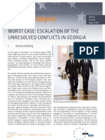Worst Case Escalation of the Unresolved Conflict in Georgia